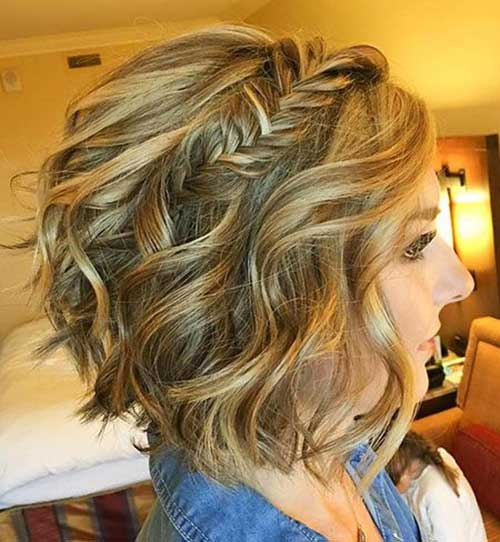 Simple Party Hairstyles for Short Hair-17