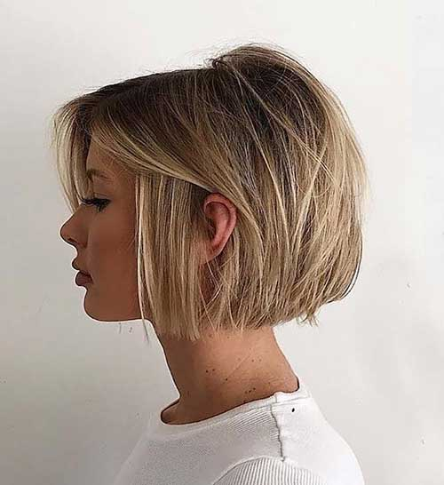 Cute Short Blunt Haircuts-18