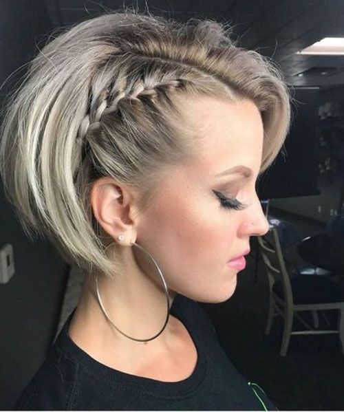 Simple Party Hairstyles for Short Hair-20