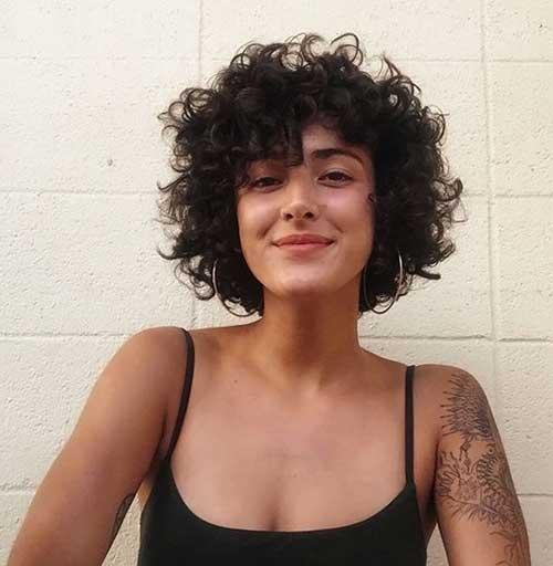 Cute Curly Short Haircuts-7