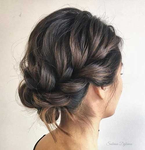 Simple Party Hairstyles for Short Hair