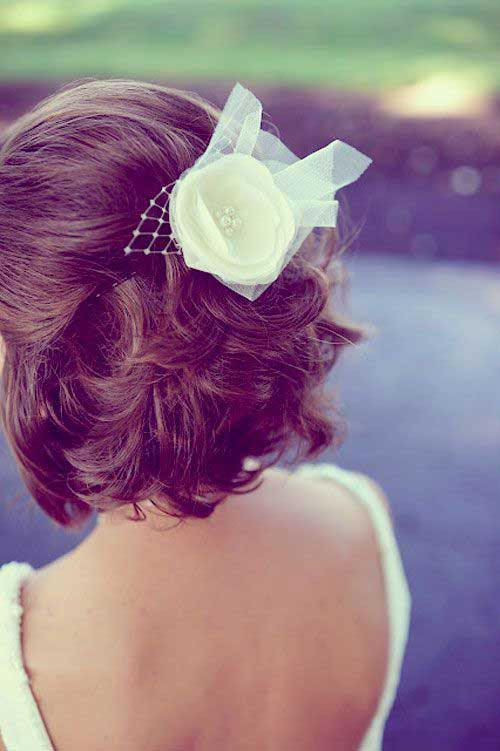Wedding Hairstyles for Short Hair-11