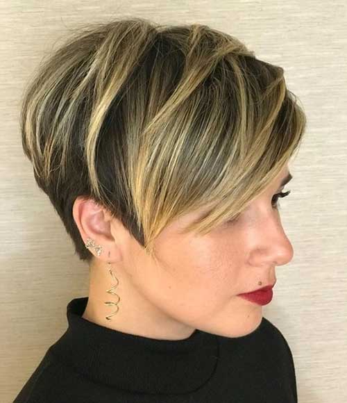 Blonde Long Pixie Styles-13