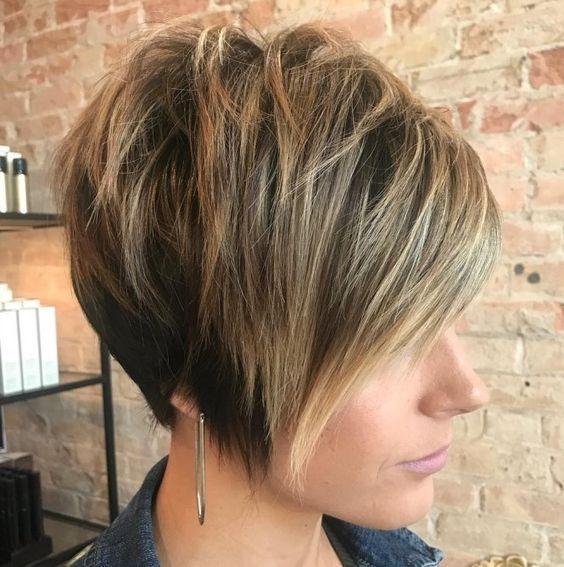 Short Sexy Layered Haircut-13