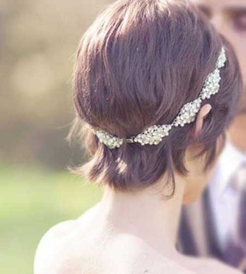 Wedding Hairstyles for Short Hair-14