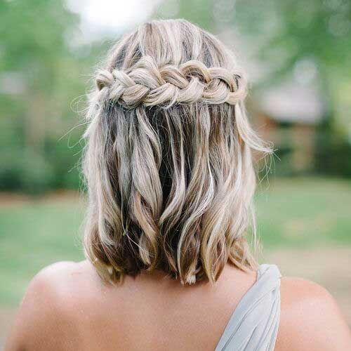 Wedding Hairstyles for Short Hair-7