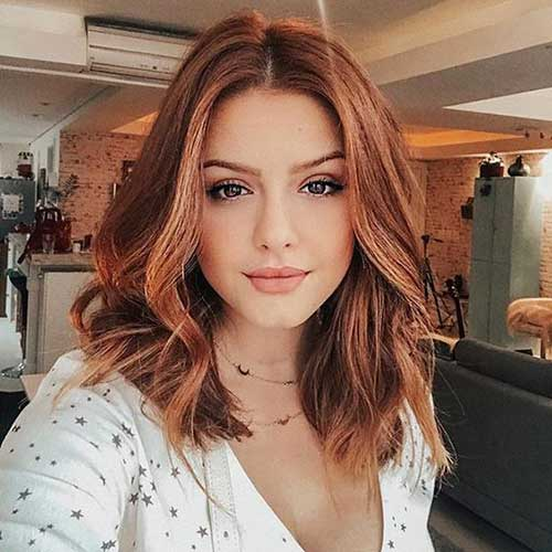 Copper Red Short Hair Color Ideas-8
