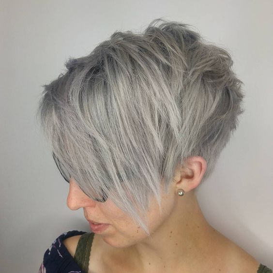 Short Sexy Ash Blonde Hair-9
