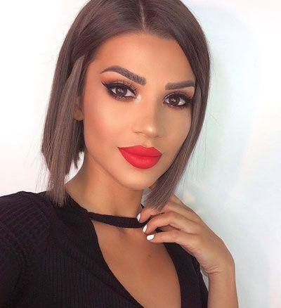 Sexy Chin Length Hair