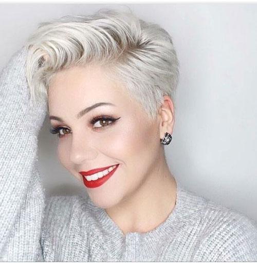 Sexy Short Hair Blonde