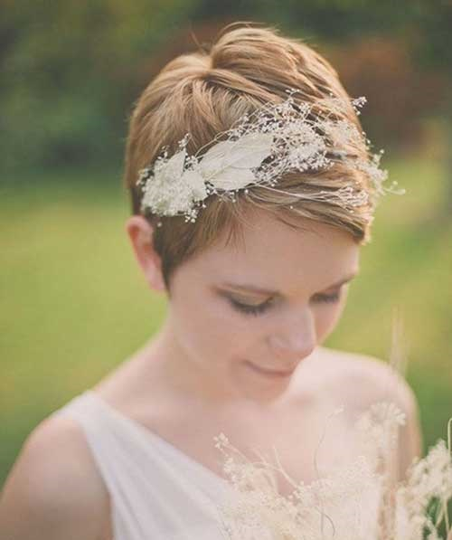 Very Short Wedding Hairstyles