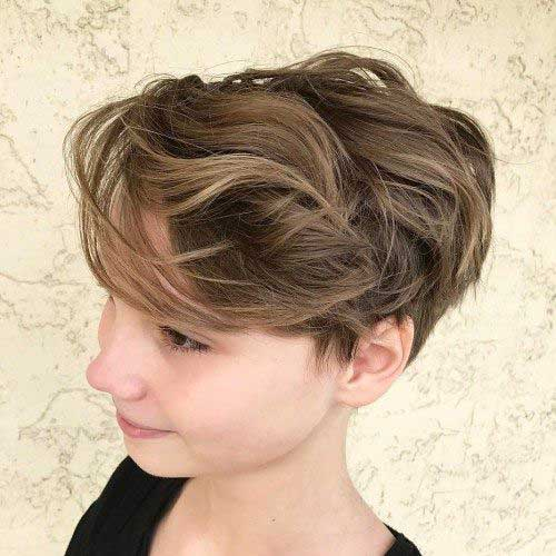 Brown New Short Hairstyles-13