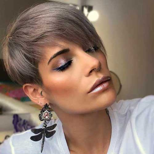 New Short Layered Pixie Hairstyles-16