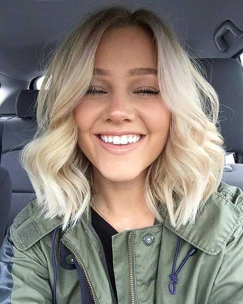 New Short Hairstyles Loose Curls-8