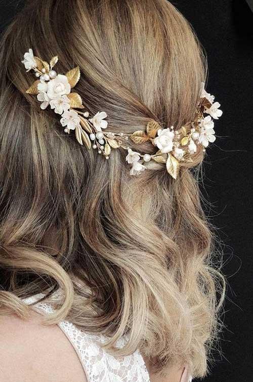 Short Updo Hair for Wedding-9