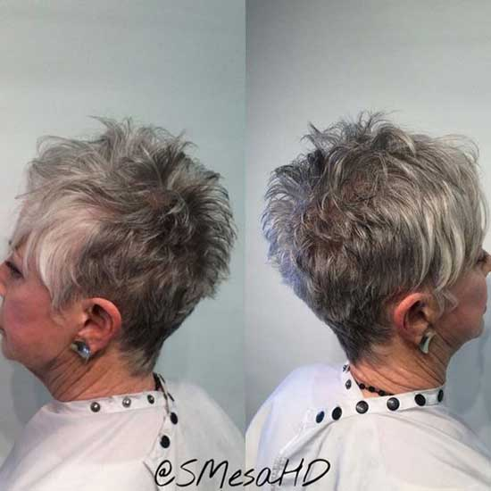 Short Fine Haircuts for Women Over 60-10