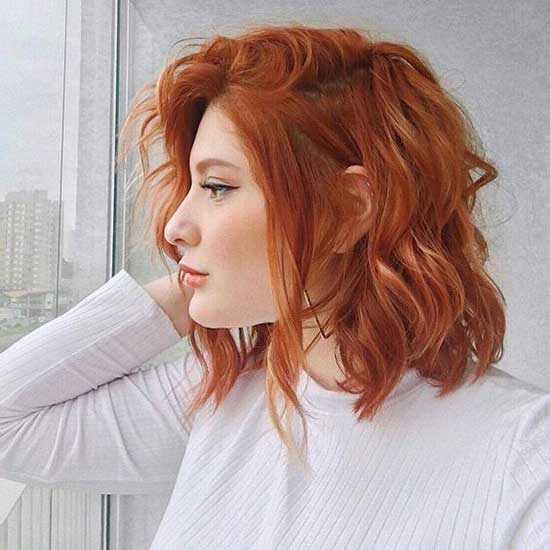 Red Hair Color for Short Hair-10
