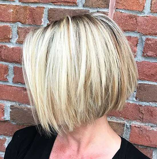 Blonde Straight Short Hairstyles-15
