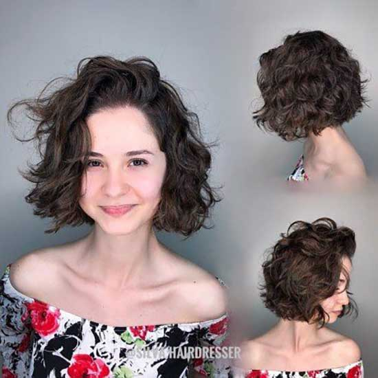 Short Haircuts for Frizzy Bob Hair-15