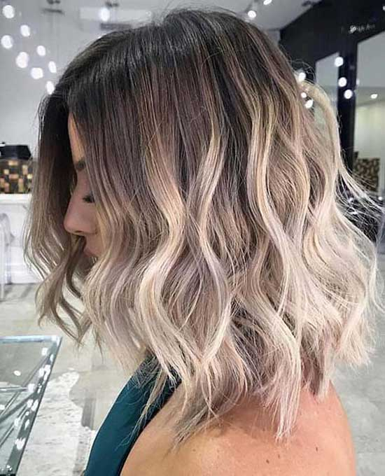 Balayage Hair Color for Short Hair-16