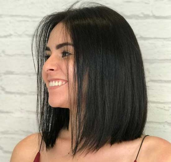 Straight Shoulder Length Hairstyles-18