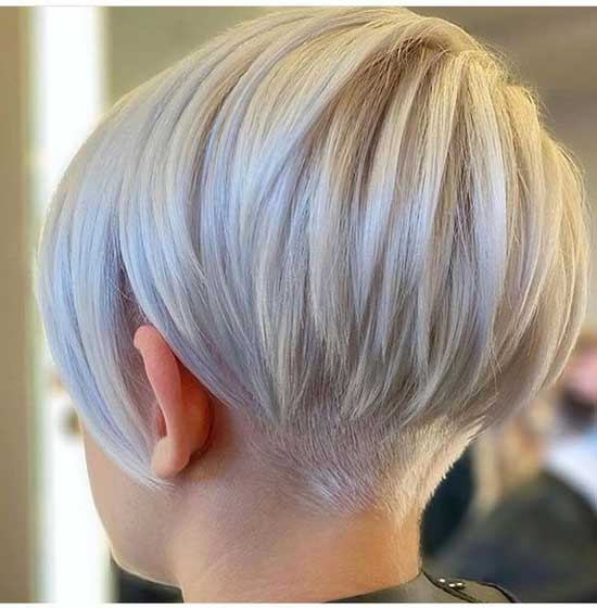Light Blonde Hair Color for Short Hair-19