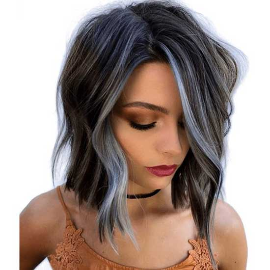 Hair Color for Short Hair-23