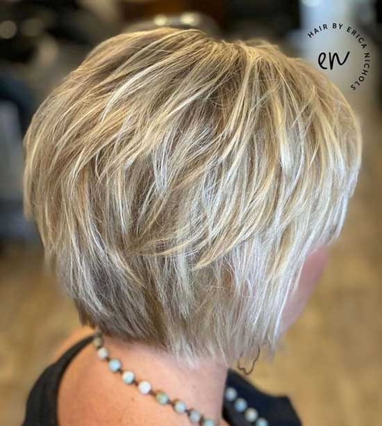 Bob Razored Layer Hairstyles for Fine Hair-7