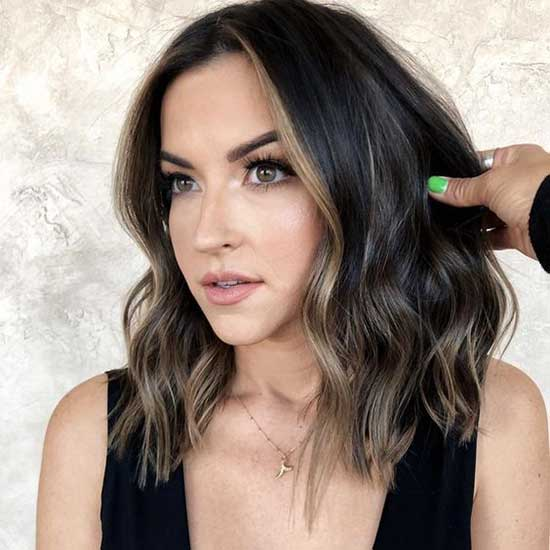 Brunette Hair Color for Short Hair-8