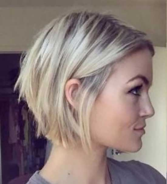 Graduation Bob Hairstyles for Fine Hair-8