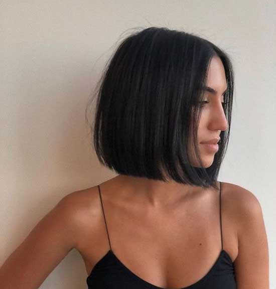 Thin Straight Short Hairstyles-9