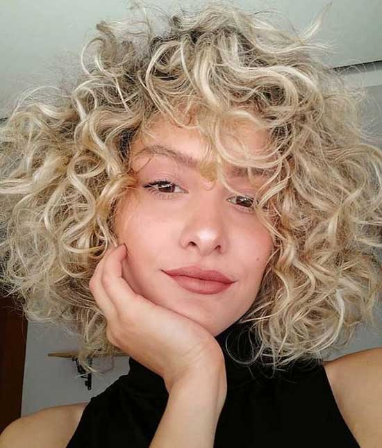 Short Frizzy Curly Hair