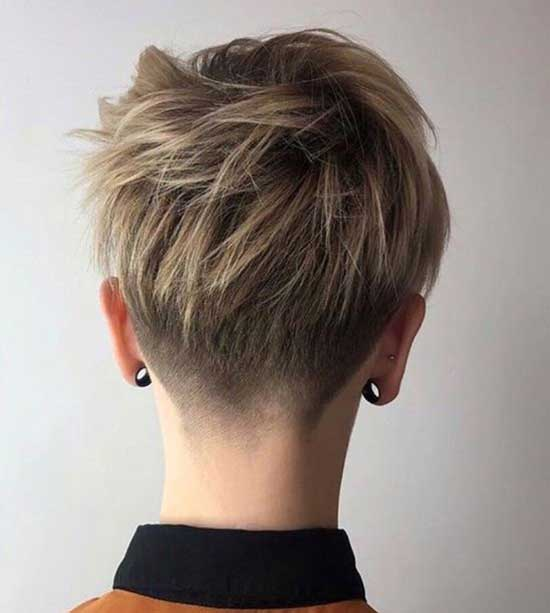 2020 Short Hair Back View-11