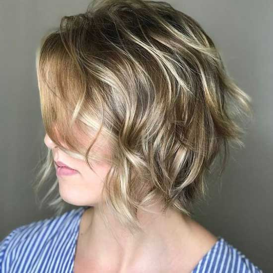 Choppy Layers Short Haircuts for Women with Thin Hair-11
