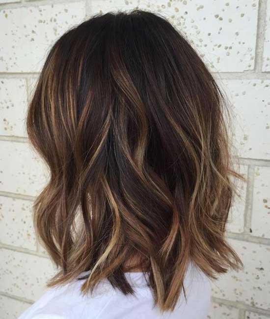 Blonde Balayage Medium To Short Hair Styles-12