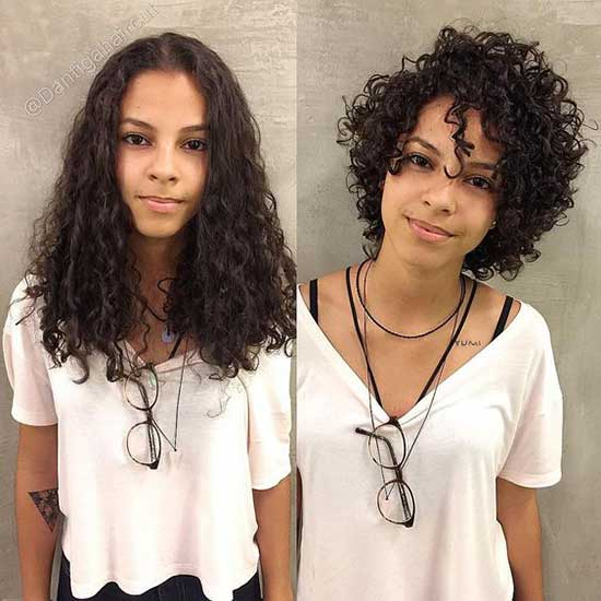 Long To Short Natural Curly Hair-14