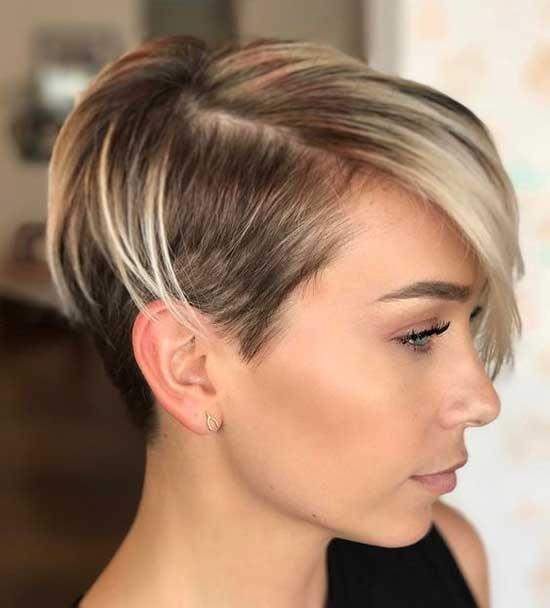 Short Sides Haircuts for Women with Thin Hair-15