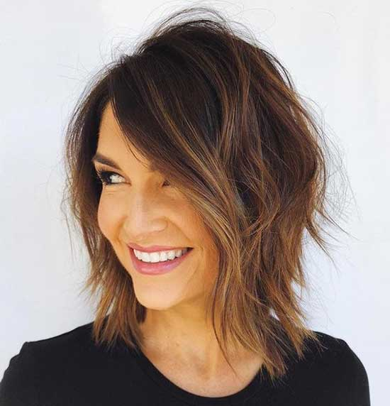 Medium To Short Hair Styles-19