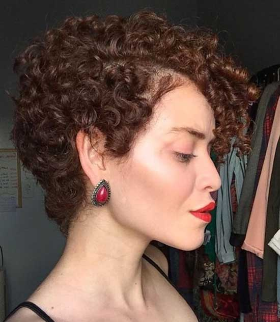 Side View Short Natural Curly Hair-19