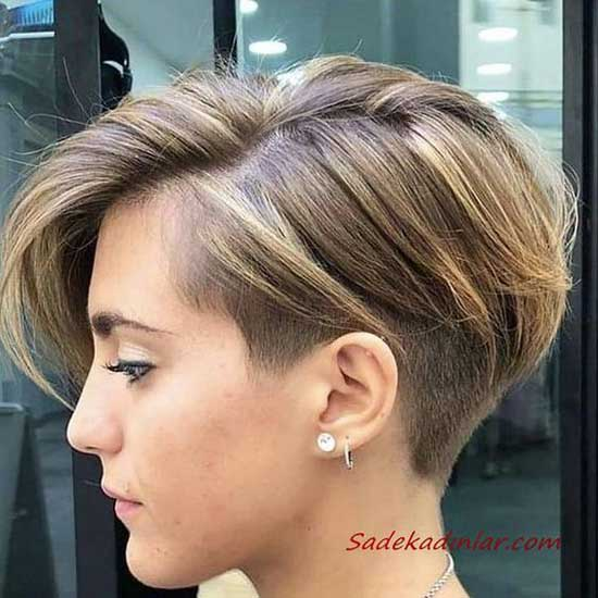 Short Haircuts for Women with Thin Hair-21