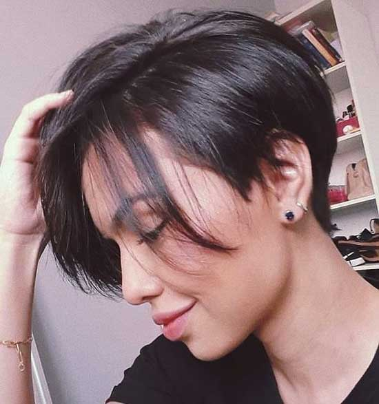 Short Haircuts for Women with Thin Hair-22