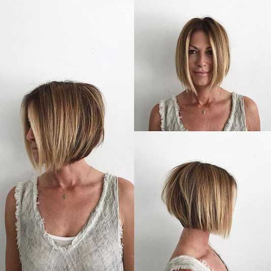 Short Haircuts for Women with Thin Hair-29