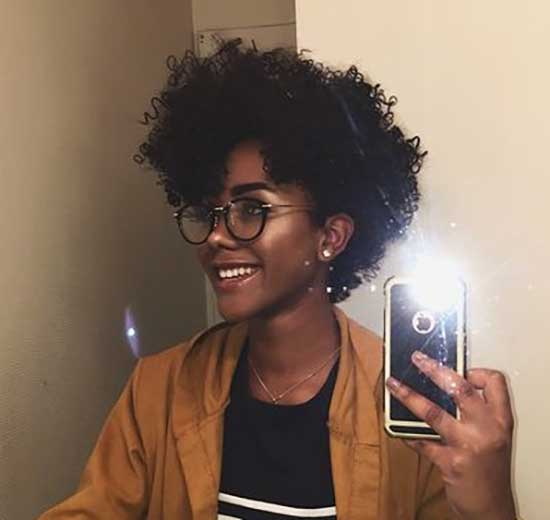 Short Natural Curly Hair-29