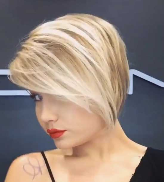 Short Haircuts for Women with Thin Hair-30