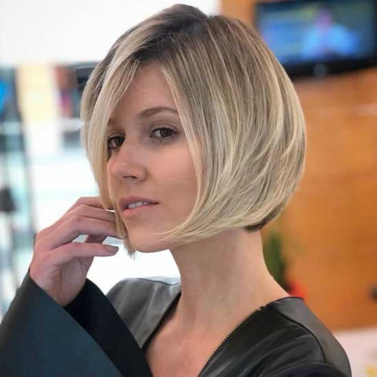 2020 Short Hair Side Bangs-32