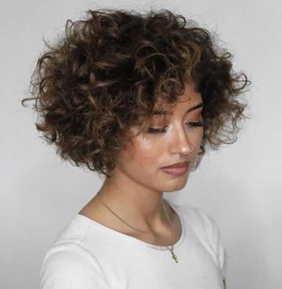 Short Natural Curly Hair-36