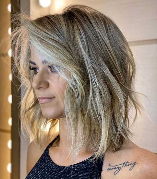 2020 Short Layered Hair-7