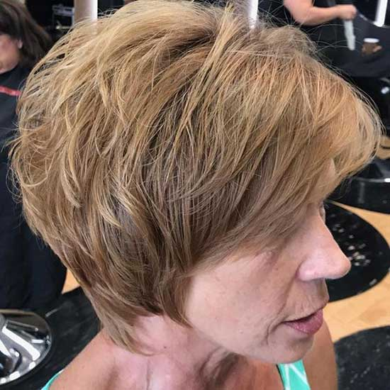 Hair for Over 50 Short