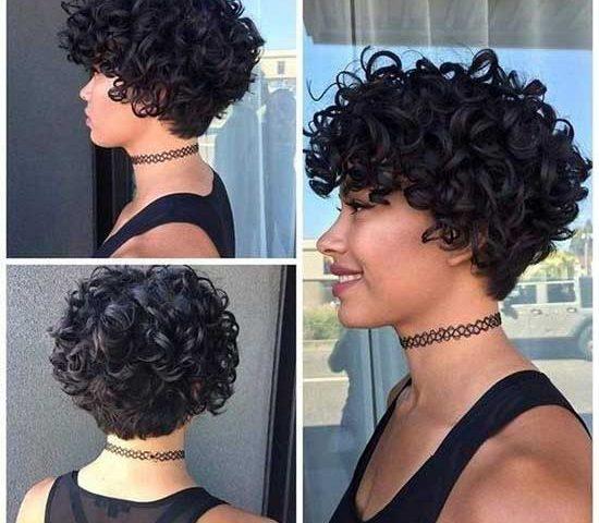 Short Haircuts For Naturally Curly Hair Short Haircuts