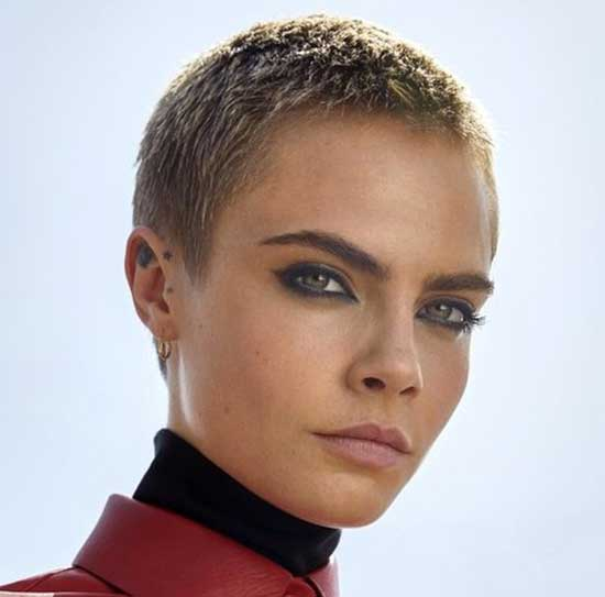 Cara Super Short Female Haircuts-12